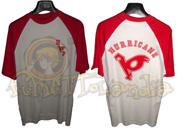 HURRICANE POLYMAR RED/WHITE T-SHIRT (L)