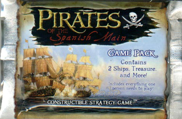 CARDS PIRATES OF THE SPANISH MAIN BUSTE