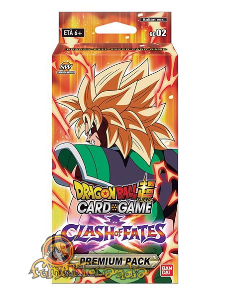 DRAGONBALL SUPER GIFT SET CLASH OF FATES