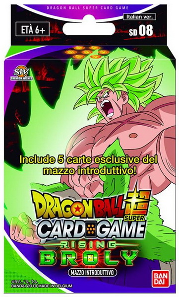 DRAGONBALL SUPER SD-08 RISING BROLY MAZZO