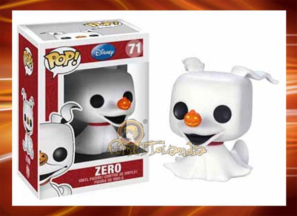 POP! DISNEY #071 PVC NIGHTMARE BEFORE CHRISTMAS ZERO