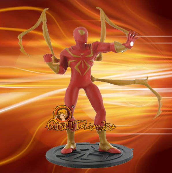 ULTIMATE SPIDER-MAN MINI FIGURE IRON SPIDER