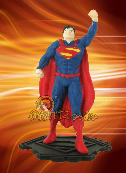 DC COMICS MINI FIGURE SUPERMAN FLYING