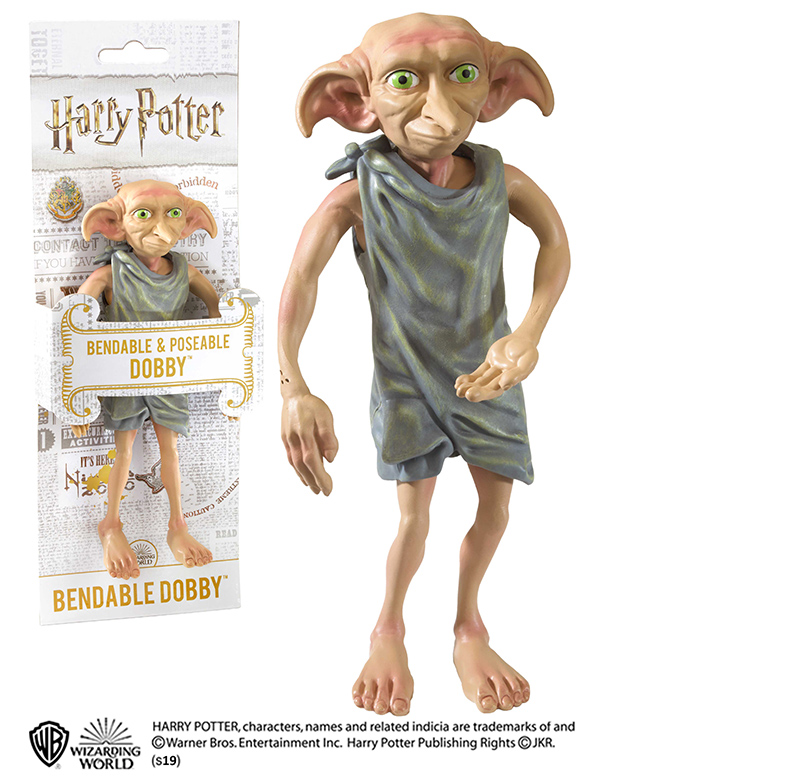 HARRY POTTER BENDABLE DOBBY FIGURE