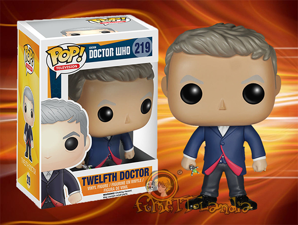 POP! TELEVISION #219 PVC DOCTOR WHO TWELFTH DOCTOR
