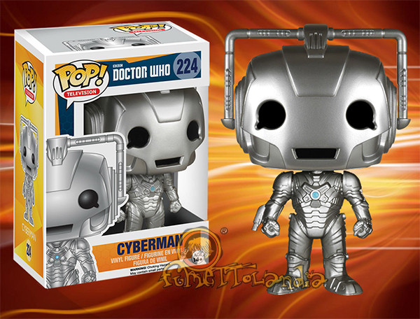 POP! TELEVISION #224 PVC DOCTOR WHO CYBERMAN