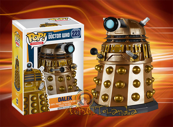 POP! TELEVISION #223 PVC DOCTOR WHO DALEK
