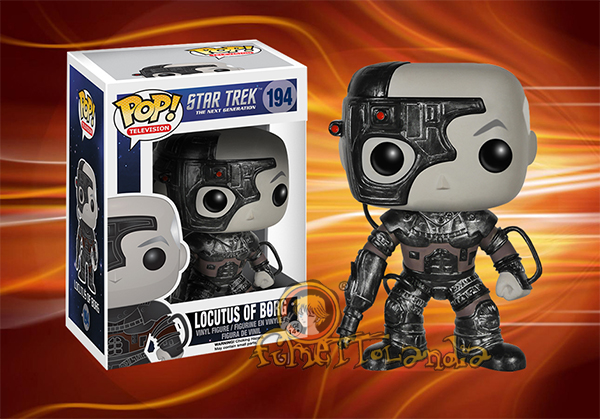 POP! TELEVISION #194 PVC STAR TREK TNG LOCUTUS OF BORG