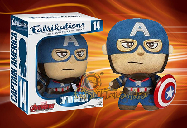 FABRIKATIONS PLUSH #014 CAPTAIN AMERICA