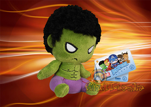 MOPEEZ MARVEL PLUSH FIGURE HULK