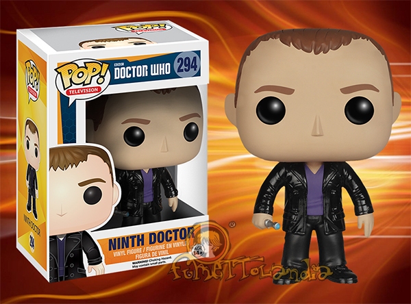 POP! TELEVISION #294 PVC DOCTOR WHO NINTH DOCTOR