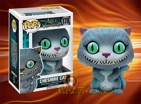 POP! DISNEY #178 PVC ALICE IN WONDERLAND CHESHIRE CAT