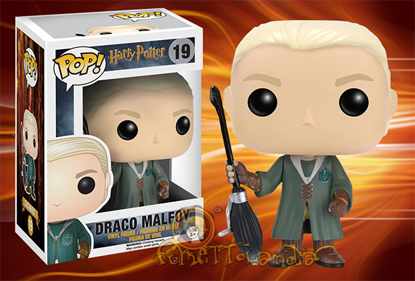 POP! HARRY POTTER #019 PVC DRACO MALFOY (QUIDDITCH)