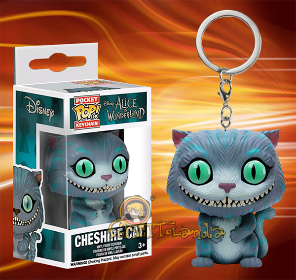 POCKET POP! KEYCHAIN ALICE IN WONDERLAND CHESHIRE CAT