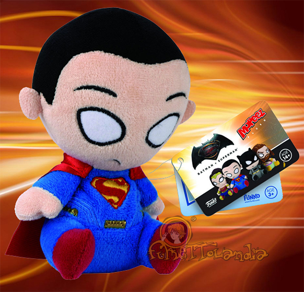 MOPEEZ BATMAN VS SUPERMAN PLUSH FIGURE SUPERMAN