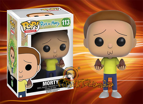 POP! ANIMATION #113 PVC RICK AND MORTY MORTY