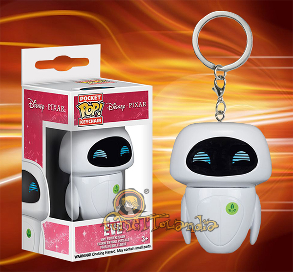 POCKET POP! KEYCHAIN DISNEY WALL-E EVE