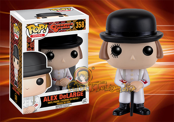 POP! MOVIES #358 PVC CLOCKWORK ORANGE ALEX DELARGE