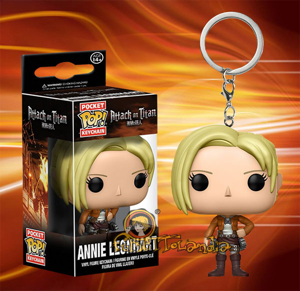 POCKET POP! ATTACK ON TITAN ANNIE LEONHART
