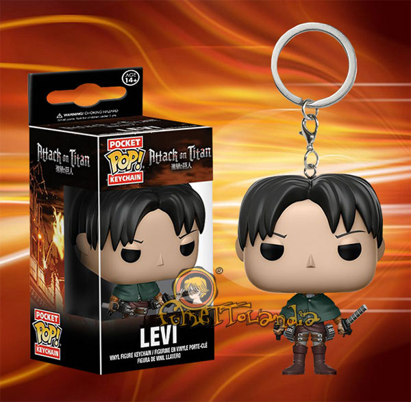 POCKET POP! ATTACK ON TITAN LEVI ACKERMAN