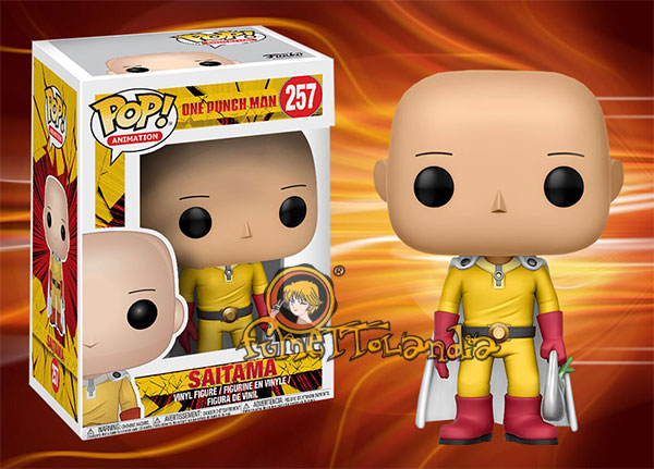 POP! ANIMATION #257 PVC ONE PUNCH MAN SAITAMA