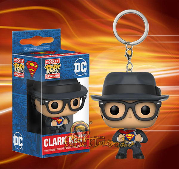 POCKET POP! KEYCHAIN CLARK KENT