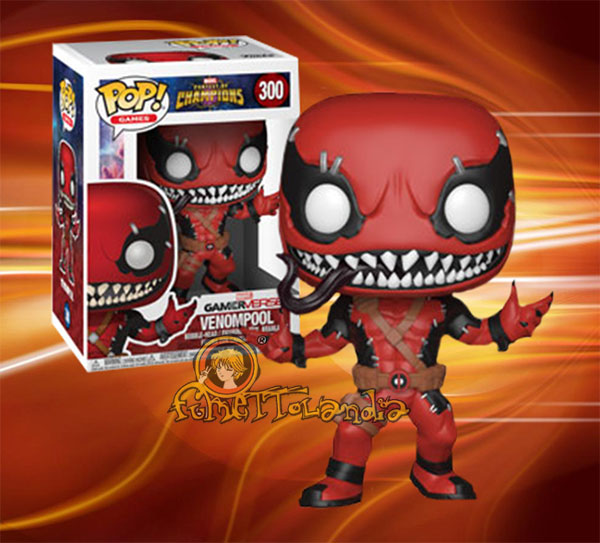 POP! GAMES #300 PVC CONTEST OF CHAMPIONS VENOMPOOL