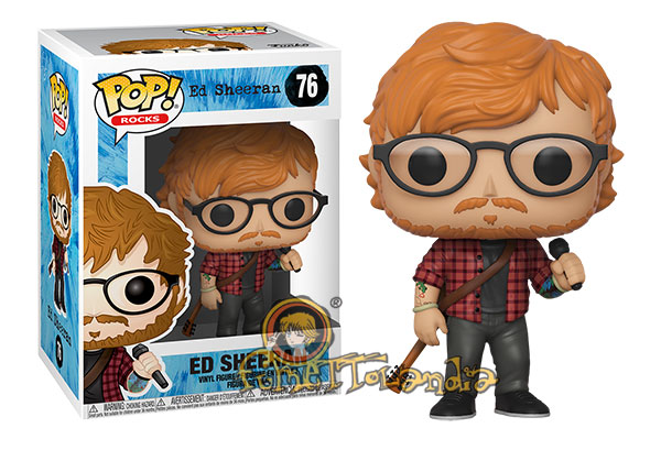 POP! ROCKS #??? PVC ED SHEERAN