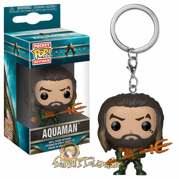 POCKET POP! KEYCHAIN AQUAMAN ARTHUR CURRY AS GLADIATOR