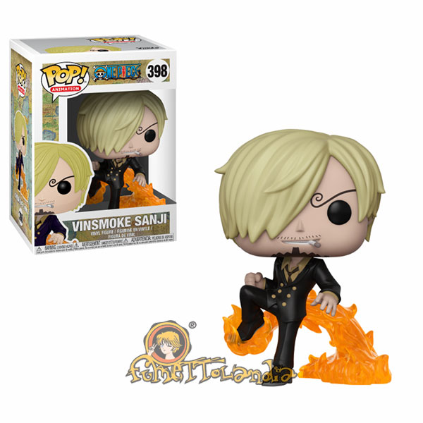 POP! ANIMATION #398 PVC ONE PIECE VINSMOKE SANJI