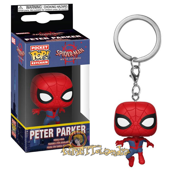 POCKET POP! KEYCHAIN ANIMATED SPIDER-MAN