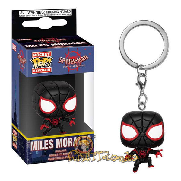 POCKET POP! KEYCHAIN ANIMATED SPIDER-MAN MILES MORALES