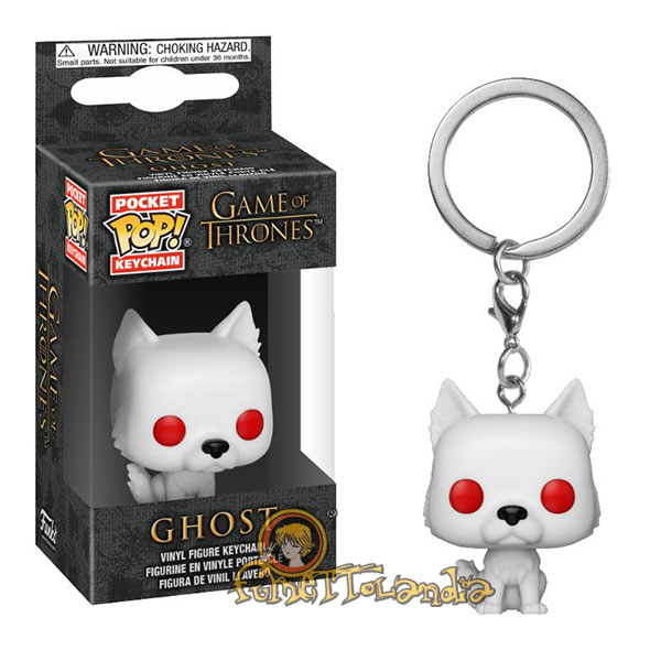 POCKET POP! KEYCHAIN GAME OF THRONES GHOST