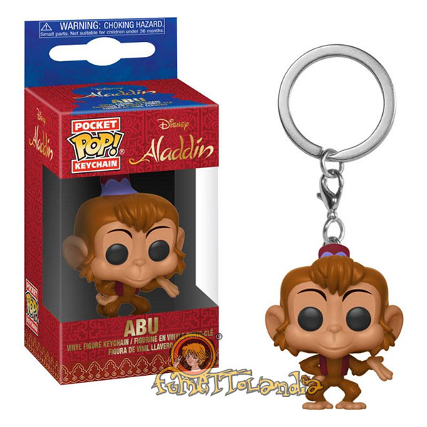 POCKET POP! KEYCHAIN DISNEY ALADDIN ABU