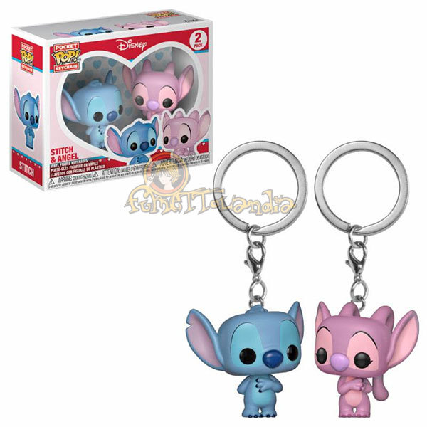 POCKET POP! DISNEY LILO & STITCH STITCH & ANGEL 2-PACK