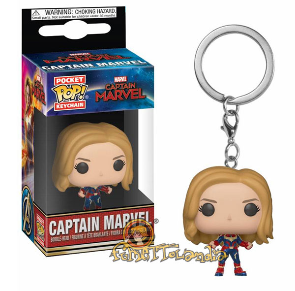POCKET POP! KEYCHAIN CAPTAIN MARVEL CAPTAIN MARVEL