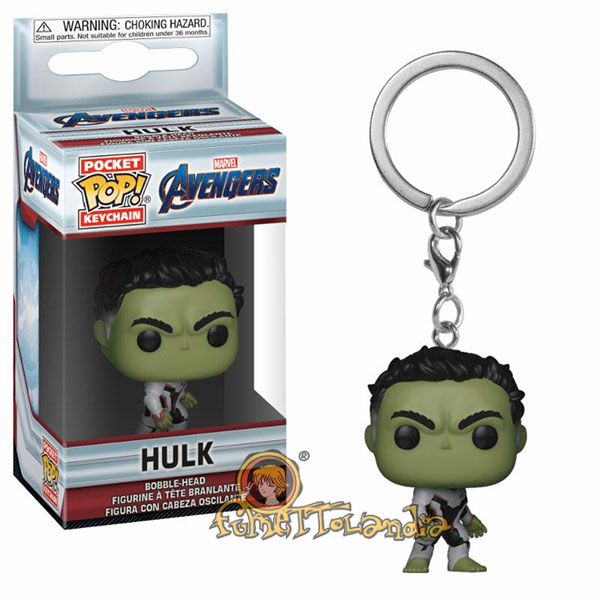 POCKET POP! KEYCHAIN AVENGERS ENDGAME HULK