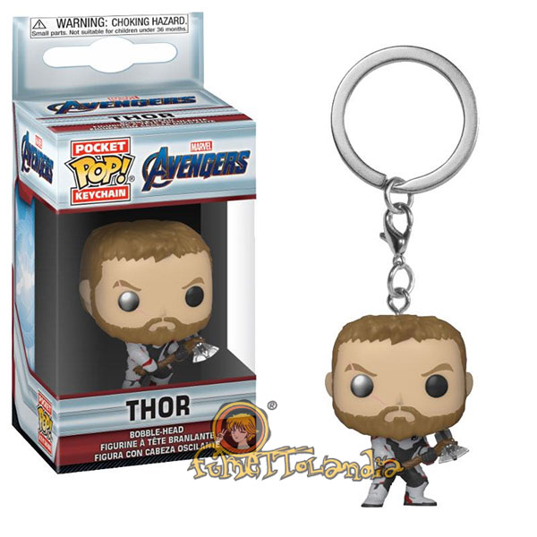 POCKET POP! KEYCHAIN AVENGERS ENDGAME THOR