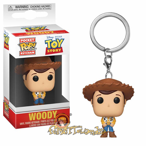 POCKET POP! DISNEY TOY STORY WOODY KEYCHAIN