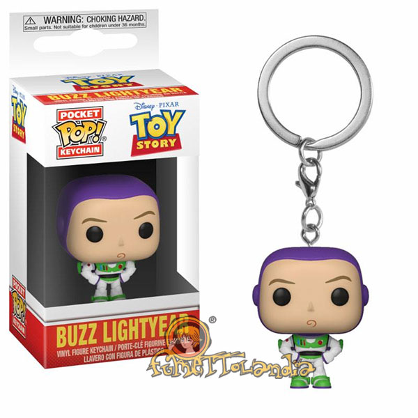 POCKET POP! DISNEY TOY STORY BUZZ LIGHTYEAR KEYCHAIN
