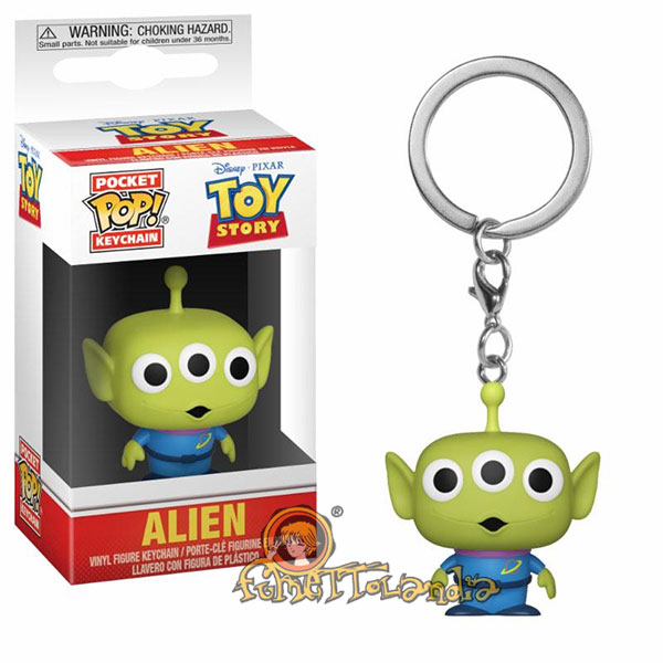 POCKET POP! DISNEY TOY STORY ALIEN KEYCHAIN