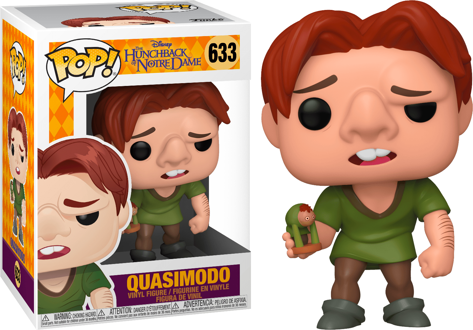 POP! DISNEY #??? PVC THE HUNCHBACK OF NOTRE DAME QUASIMODO