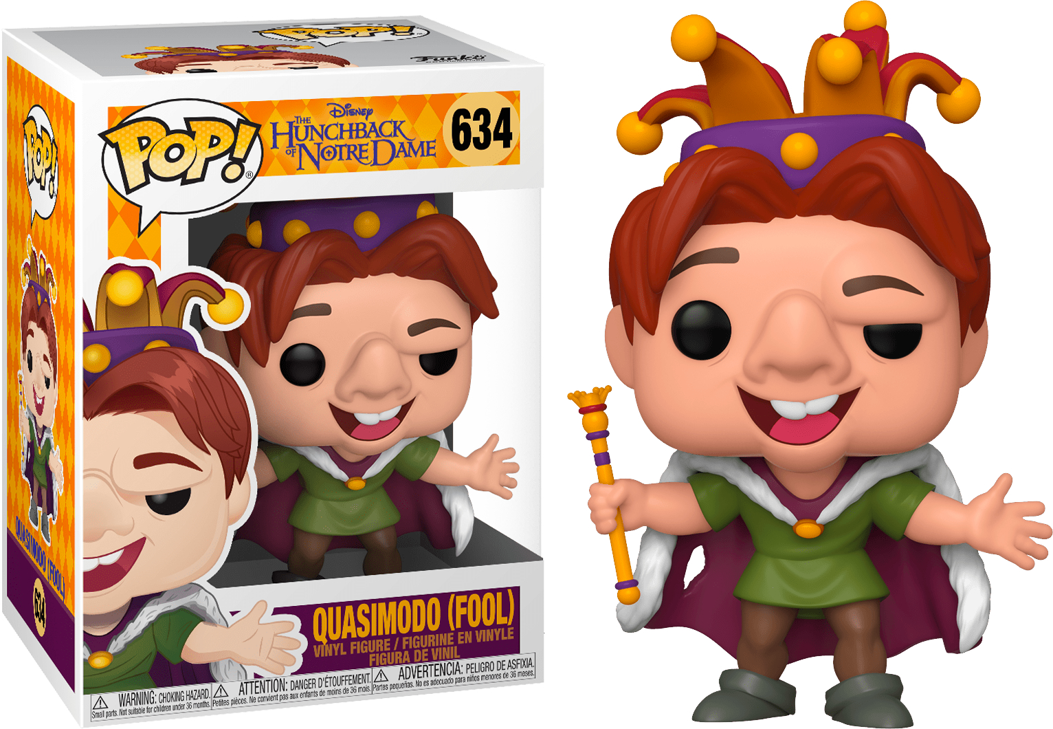 POP! DISNEY #??? PVC THE HUNCHBACK OF NOTRE DAME QUASIMODO FOOL