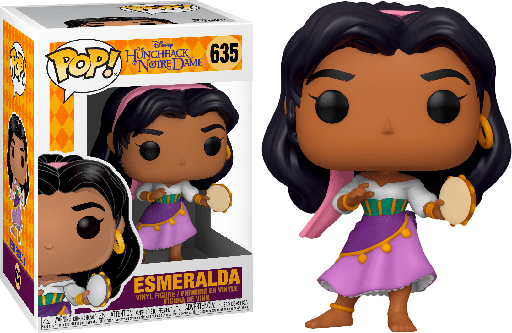 POP! DISNEY #??? PVC THE HUNCHBACK OF NOTRE DAME ESMERALDA
