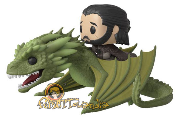 POP! RIDES #??? PVC GAME OF THRONES JON SNOW W/RHAEGAL