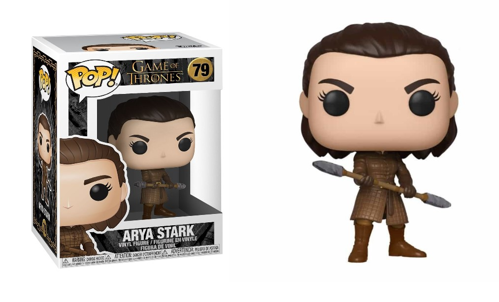POP! #079 PVC GAME OF THRONES ARYA STARK W/TWO HEADED SPEAR