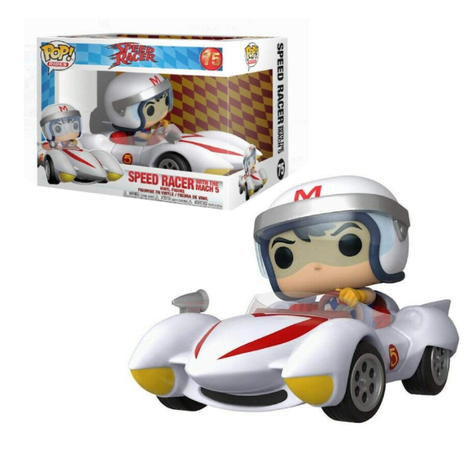 POP! RIDES #??? PVC SPEED RACER SPEED W/MACH 5