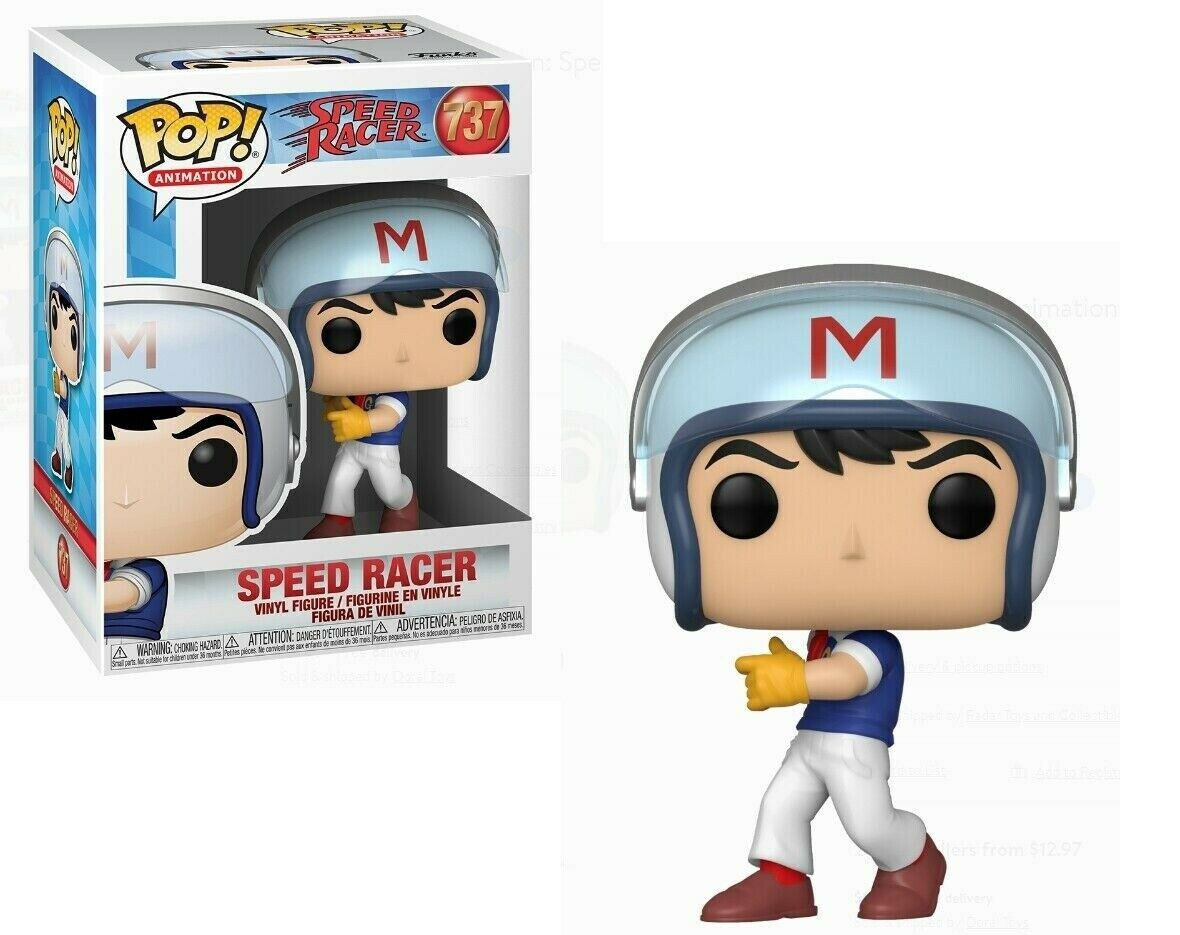 POP! ANIMATION #??? SPEED RACER PVC SPEED IN HELMET