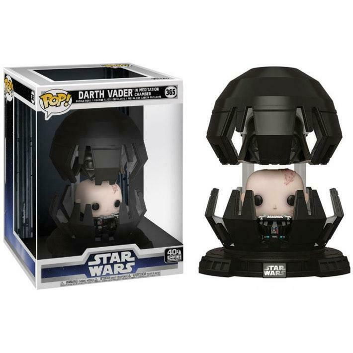 POP! STAR WARS DELUXE MOVIES #??? PVC DARTH VADER IN MEDITATION