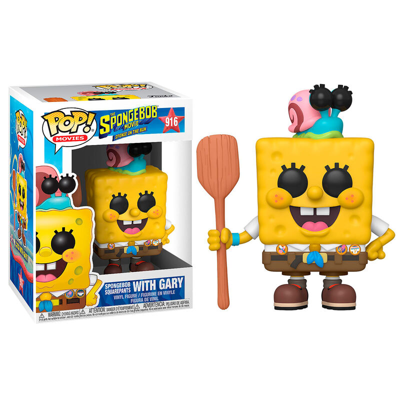 POP! TELEVISION #??? PVC SPONGEBOB IN CAMPING GEAR